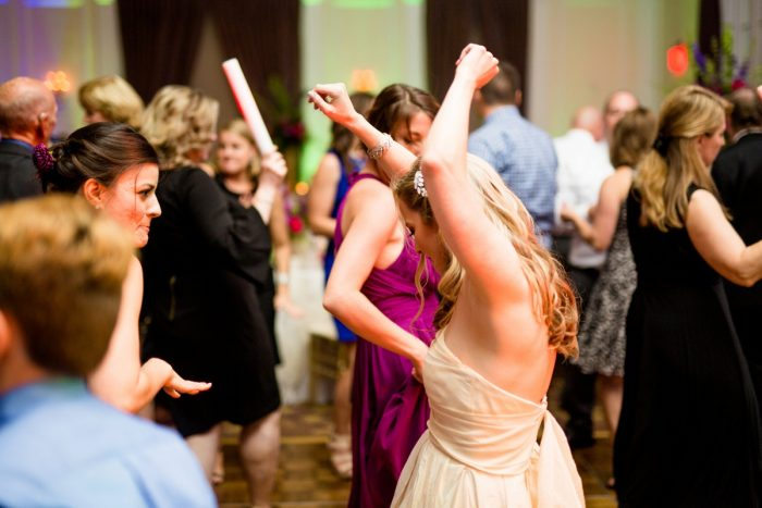 Bold Sangria Wedding at the University Club from Jenna Hidinger Photography featured on Burgh Brides