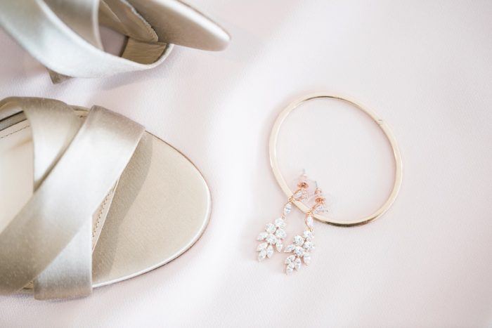 Gold Bridal Accessories for Wedding Day: Enchanting Greenery Inspired Wedding from Levana Melamed Photography featured on Burgh Brides