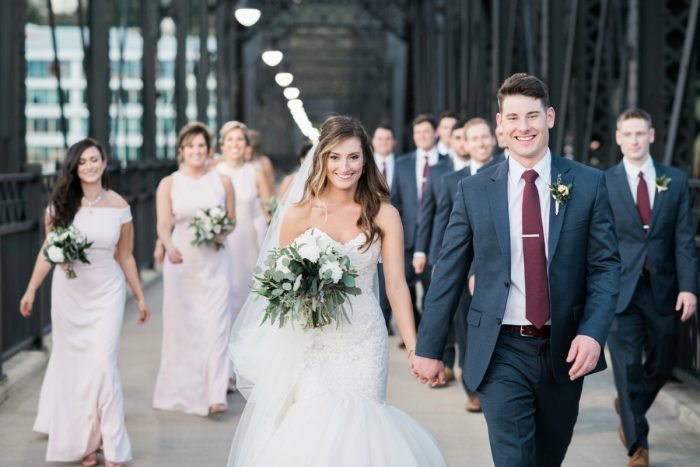 Enchanting Greenery Inspired Wedding from Levana Melamed Photography featured on Burgh Brides
