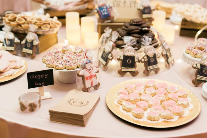Pittsburgh Cookie Table: Enchanting Greenery Inspired Wedding from Levana Melamed Photography featured on Burgh Brides