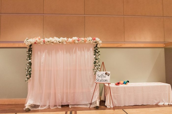 Wedding Selfie Station: Enchanting Greenery Inspired Wedding from Levana Melamed Photography featured on Burgh Brides