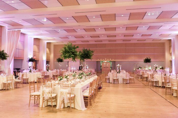 Wedding Uplighting Ideas: Enchanting Greenery Inspired Wedding from Levana Melamed Photography featured on Burgh Brides