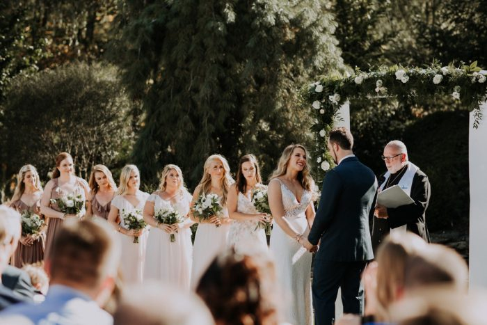 Outdoor Wedding Ceremony Ideas: Hip & Modern Wedding from All Heart Photo & Video featured on Burgh Brides