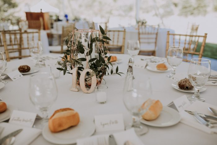 Geometric Terrariums Wedding Centerpieces: Hip & Modern Wedding from All Heart Photo & Video featured on Burgh Brides