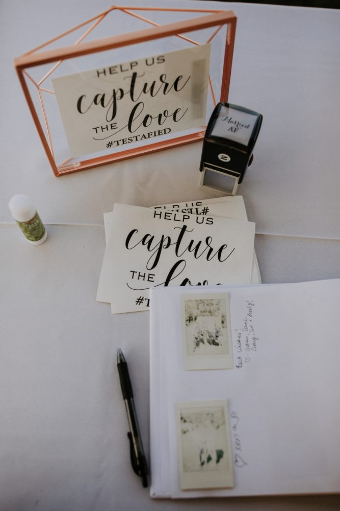 Fun Wedding Guest Book Ideas: Hip & Modern Wedding from All Heart Photo & Video featured on Burgh Brides