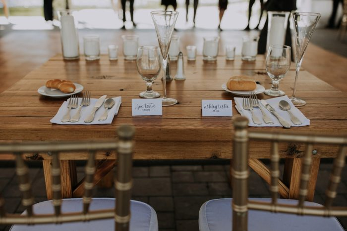 Wedding Sweetheart Table Ideas: Hip & Modern Wedding from All Heart Photo & Video featured on Burgh Brides