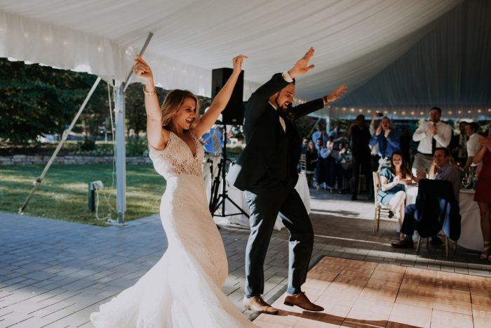 Hip & Modern Wedding from All Heart Photo & Video featured on Burgh Brides