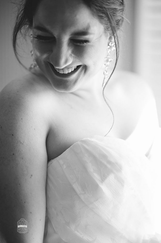 Sweetheart Neckline Wedding Dress: Modern Garden Inspired Wedding at the Pittsburgh Golf Club from Palermo Photography featured on Burgh Brides