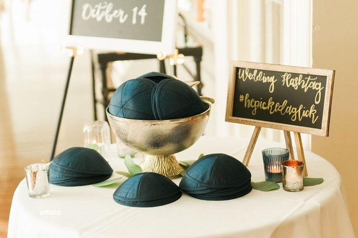 Jewish Wedding Ceremony Ideas: Modern Garden Inspired Wedding at the Pittsburgh Golf Club from Palermo Photography featured on Burgh Brides