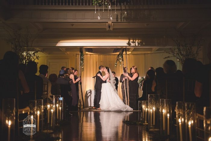 Modern Garden Inspired Wedding at the Pittsburgh Golf Club from Palermo Photography featured on Burgh Brides