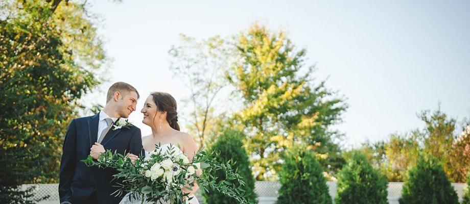 Modern Garden Inspired Wedding at the Pittsburgh Golf Club: Susannah & Bryan