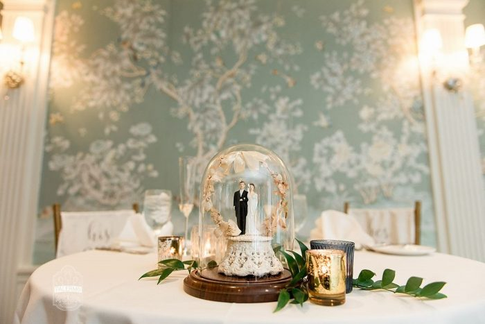 Wedding Sweetheart Table Ideas: Modern Garden Inspired Wedding at the Pittsburgh Golf Club from Palermo Photography featured on Burgh Brides