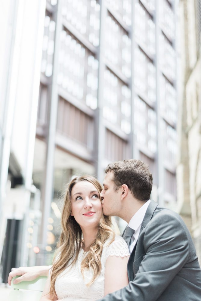 Sweet & Serene Engagement Session from Levana Melamed Photography featured on Burgh Brides