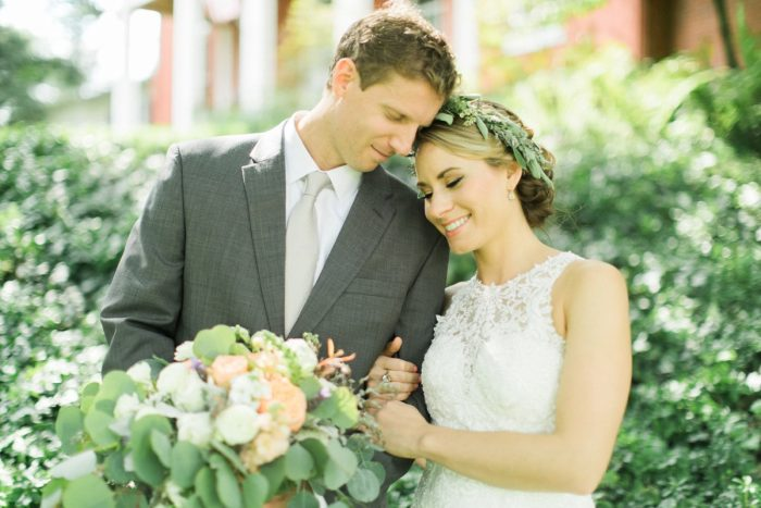 Sweet Wedding Portraits: Vintage Rustic Wedding at Shady Elms Farm from Steven Dray Images featured on Burgh Brides
