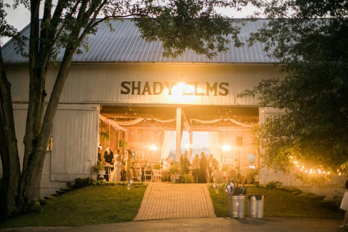 Vintage Rustic Wedding at Shady Elms Farm from Steven Dray Images featured on Burgh Brides