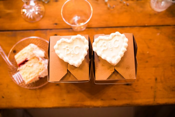 Custom Wedding Cookies: Vintage Rustic Wedding at Shady Elms Farm from Steven Dray Images featured on Burgh Brides