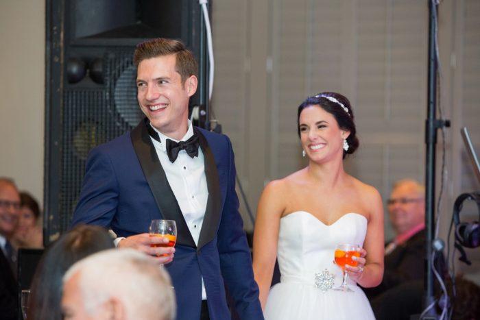Elegant Black & White Wedding at Noah's Event Venue: Mallory & Mark