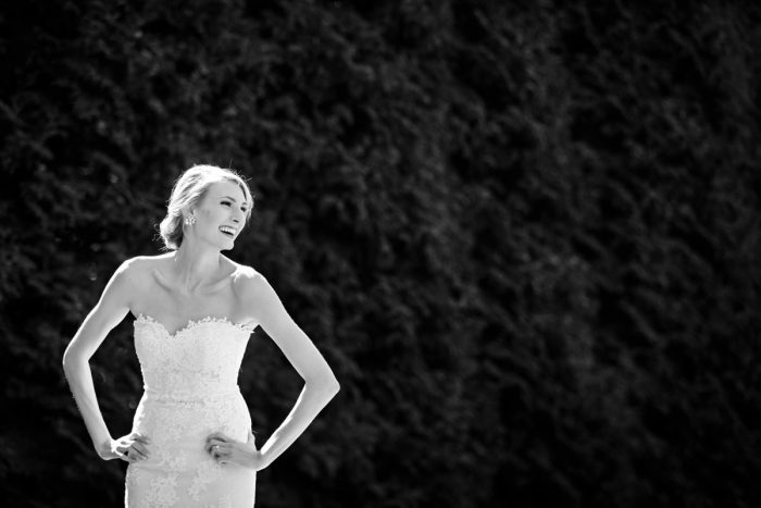 Sweetheart Neck Lace Wedding Dress: Greenery Inspired Wedding at the Butler Country Club from Kristen Wynn Photography featured on Burgh Brides