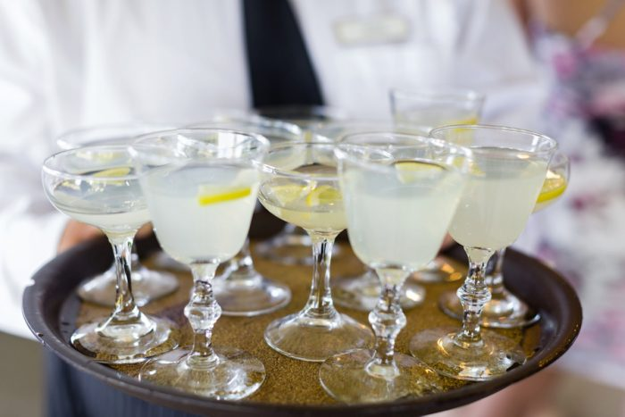 Wedding Signature Drinks: Greenery Inspired Wedding at the Butler Country Club from Kristen Wynn Photography featured on Burgh Brides