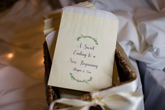 Wedding Favor Ideas: Greenery Inspired Wedding at the Butler Country Club from Kristen Wynn Photography featured on Burgh Brides