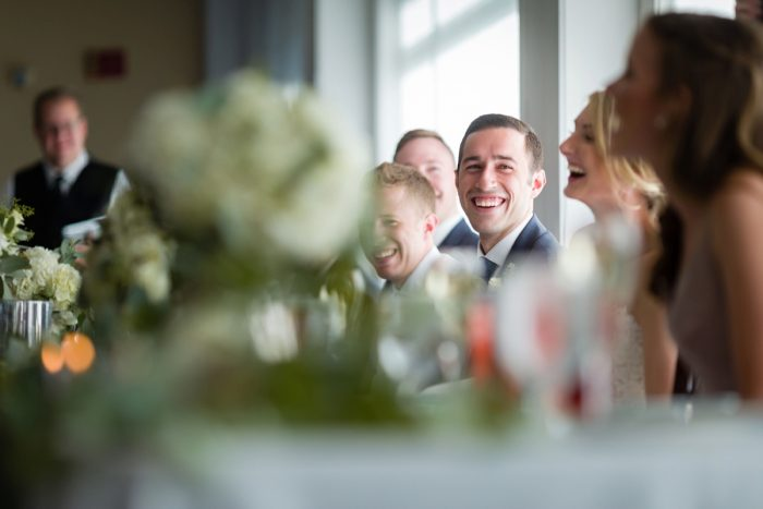 Wedding Toasts: Greenery Inspired Wedding at the Butler Country Club from Kristen Wynn Photography featured on Burgh Brides