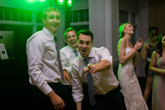 Wedding Dance Floor: Greenery Inspired Wedding at the Butler Country Club from Kristen Wynn Photography featured on Burgh Brides