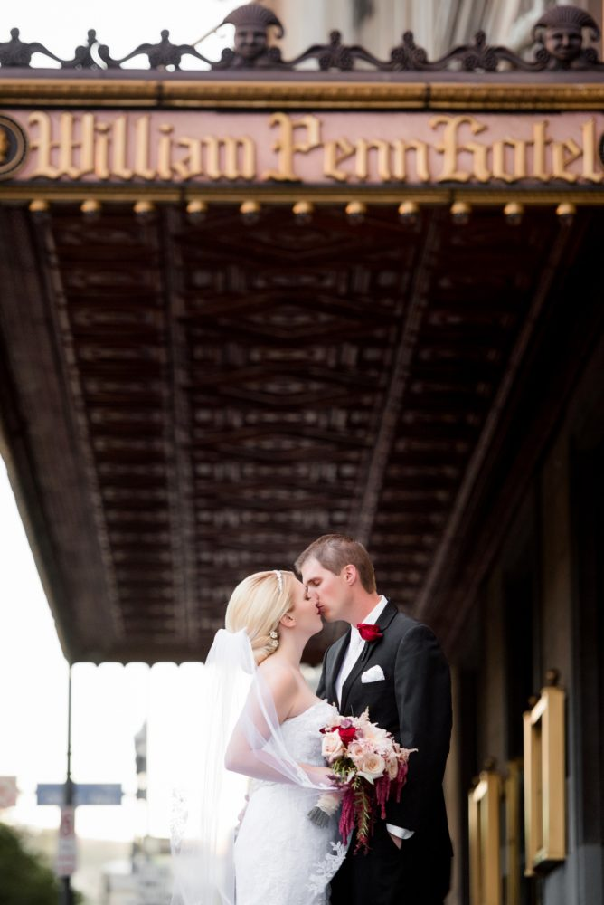 Omni William Penn Wedding: Old World Romance Wedding at the Omni William Penn Hotel from Leeann Marie Wedding Photographers featured on Burgh Brides