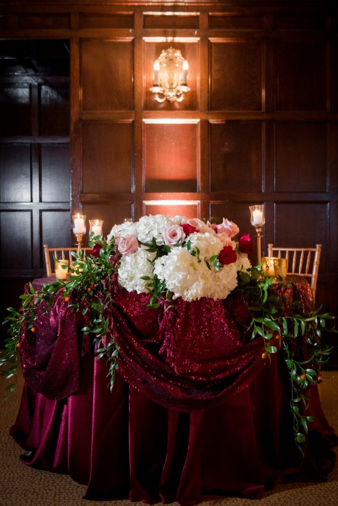 Wedding Sweetheart Table Ideas: Old World Romance Wedding at the Omni William Penn Hotel from Leeann Marie Wedding Photographers featured on Burgh Brides