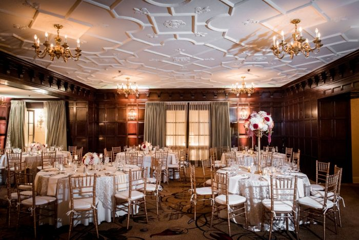 Wedding Set Up Ideas: Old World Romance Wedding at the Omni William Penn Hotel from Leeann Marie Wedding Photographers featured on Burgh Brides
