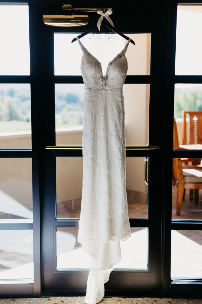 Sheath Wedding Dress: Rustic Modern Wedding at Nemacolin from David McCandless Photography featured on Burgh Brides