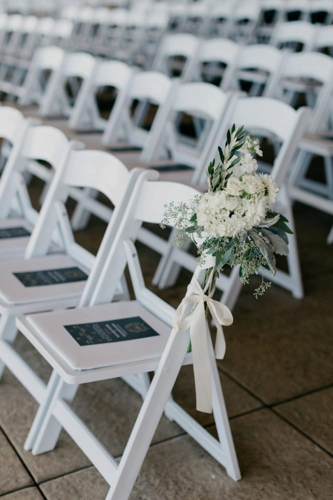 Wedding Ceremony Decor: Rustic Modern Wedding at Nemacolin from David McCandless Photography featured on Burgh Brides