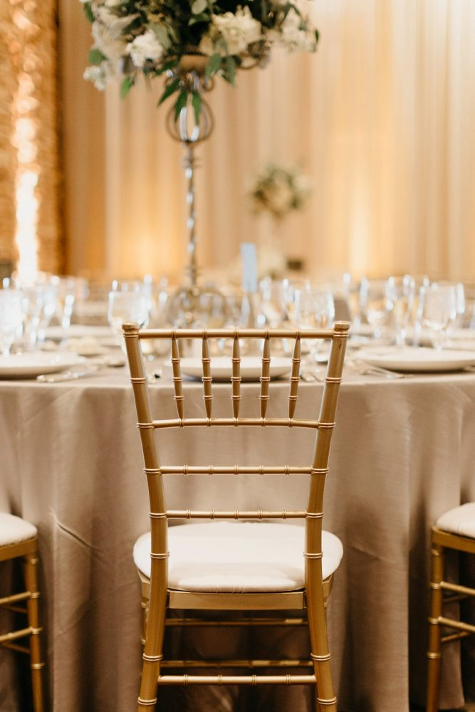 Gold Chiavari Chairs: Rustic Modern Wedding at Nemacolin from David McCandless Photography featured on Burgh Brides