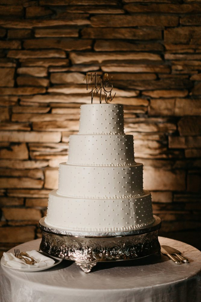 Buttercream Wedding Cake: Rustic Modern Wedding at Nemacolin from David McCandless Photography featured on Burgh Brides