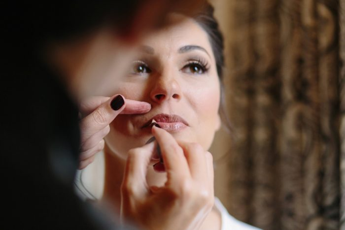 Bridal Makeup: Soft & Chic Wedding at Hotel Monaco from Jeannine Bonadio Photography featured on Burgh Brides