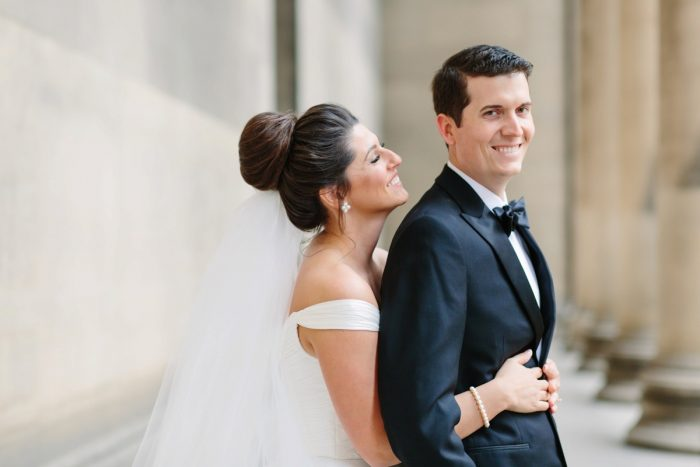 Bridal Top Knot: Soft & Chic Wedding at Hotel Monaco from Jeannine Bonadio Photography featured on Burgh Brides