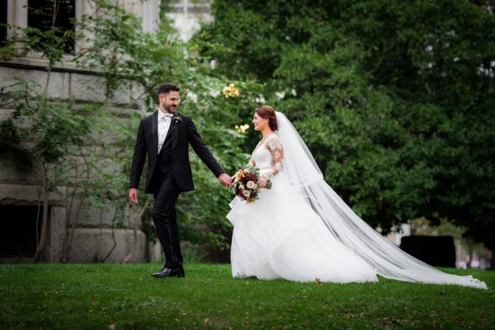 Wedding Veil: Sophisticated Merlot Wedding at the Omni William Penn Hotel from Leeann Marie, Wedding Photographers featured on Burgh Brides
