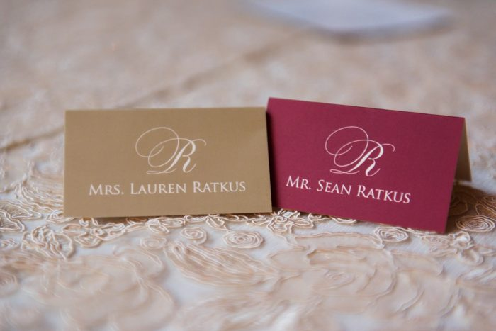 Wedding Escort Card Ideas: Sophisticated Merlot Wedding at the Omni William Penn Hotel from Leeann Marie, Wedding Photographers featured on Burgh Brides