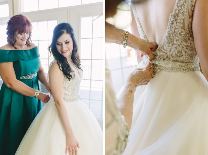 Sparkly Gold Wedding at Longue Vue Club from Jeannine Bonadio Photography featured on Burgh Brides