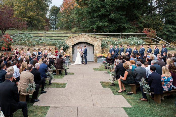 Pittsburgh Botanic Garden Wedding: Thoughtful Vintage Wedding at the Pittsburgh Botanic Gardens from Caitlin's Living Photography featured on Burgh Brides
