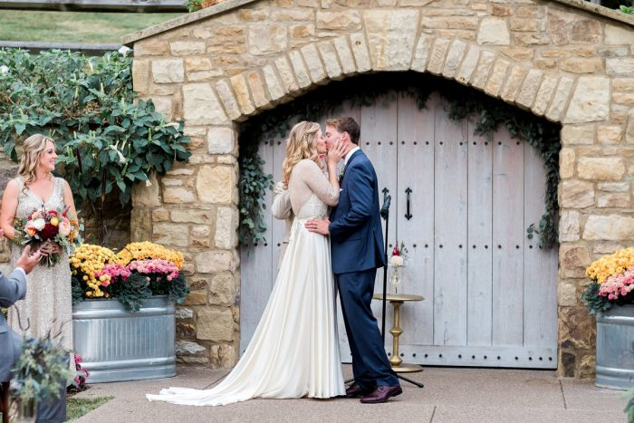 Pittsburgh Botanic Gardens Wedding: Thoughtful Vintage Wedding at the Pittsburgh Botanic Gardens from Caitlin's Living Photography featured on Burgh Brides