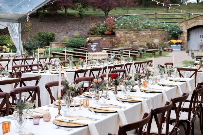 Outdoor Wedding Ideas: Thoughtful Vintage Wedding at the Pittsburgh Botanic Gardens from Caitlin's Living Photography featured on Burgh Brides