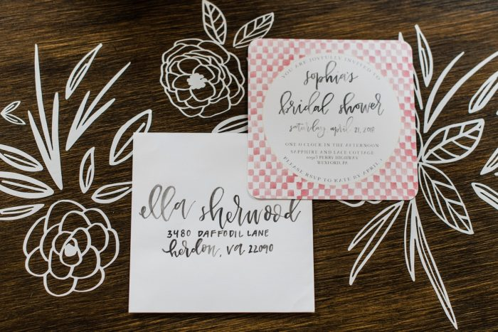 Plaid Bridal Shower Invitations: Darling Picnic Themed Bridal Shower from Dawn Derbyshire Photography featured on Burgh Brides