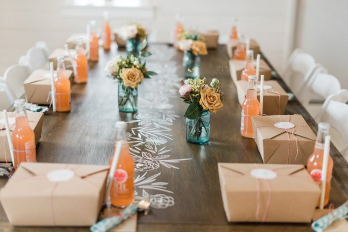 Bridal Shower Tablescape: Darling Picnic Themed Bridal Shower from Dawn Derbyshire Photography featured on Burgh Brides