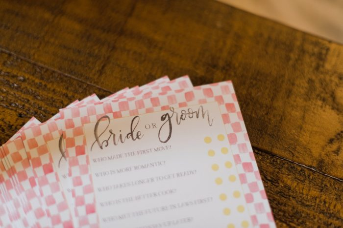 Bridal Shower Games: Darling Picnic Themed Bridal Shower from Dawn Derbyshire Photography featured on Burgh Brides