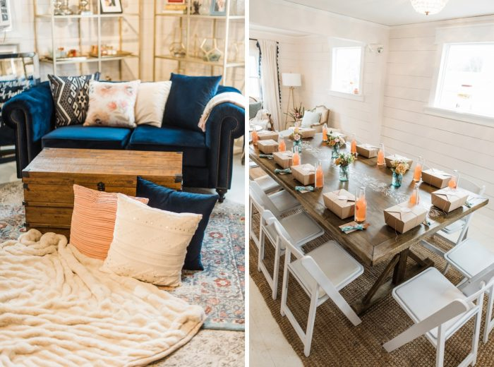 Darling Picnic Themed Bridal Shower from Dawn Derbyshire Photography featured on Burgh Brides