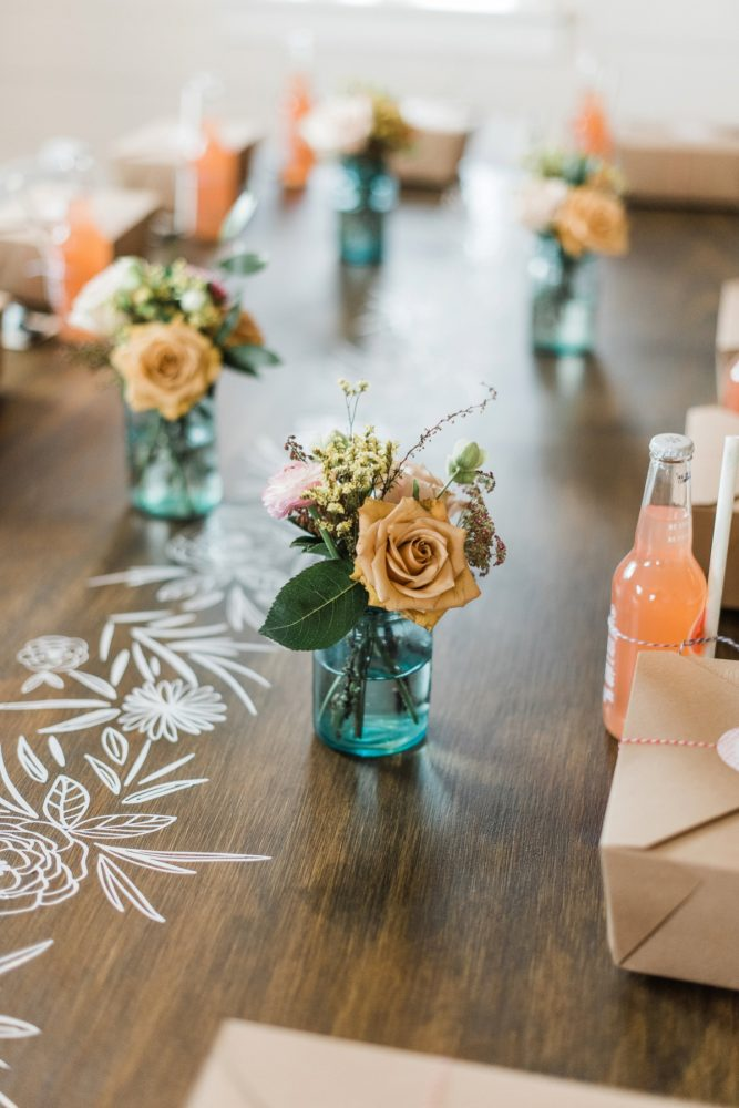 Bridal Shower Decor: Darling Picnic Themed Bridal Shower from Dawn Derbyshire Photography featured on Burgh Brides