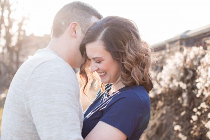 Darling Mellon Park Engagement Session from Dorosh Documentaries featured on Burgh Brides