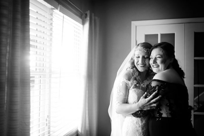 Mother of the Bride: Elegant Striped Wedding at the Wyndham Grand Pittsburgh from Kristen Wynn Photography featured on Burgh Brides