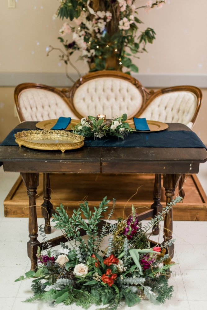 Vintage Wedding Rentals: Enchanting Forest Inspired Wedding from Dawn Derbyshire Photography featured on Burgh Brides