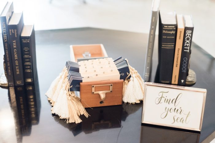 Bookmark Wedding Seating Chart: Fresh Vintage Inspired Wedding at the Twentieth Century Club from Levana Melamed Photography featured on Burgh Brides